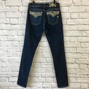 Miss Me Mid Rise Dark Wash Skinny Jeans Size 29
